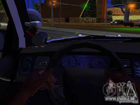 Ford Crown Victoria Police Patrol für GTA San Andreas Seitenansicht