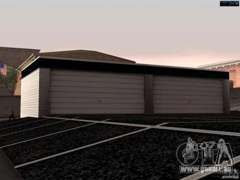 Nouveau garage à San Fierro pour GTA San Andreas troisième écran