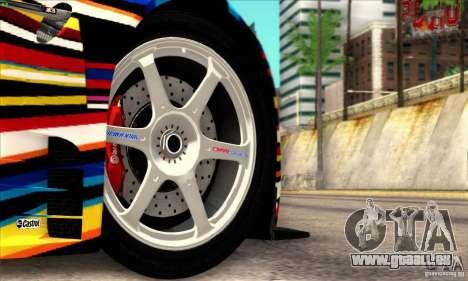 BMW M3 GT2 für GTA San Andreas rechten Ansicht