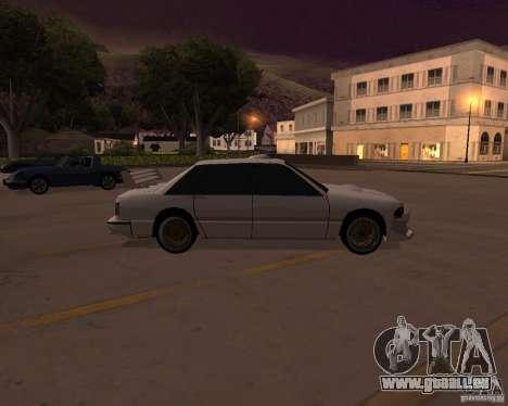 Taxi pour GTA San Andreas laissé vue