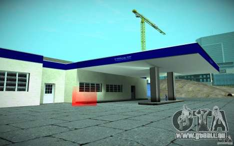 HD Garage in Doherty für GTA San Andreas zweiten Screenshot