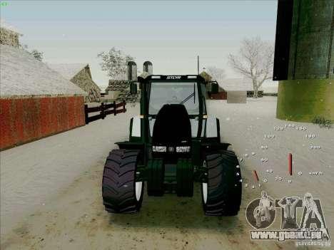 Steyr CVT 170 pour GTA San Andreas vue arrière