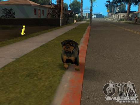 Tiere für GTA San Andreas her Screenshot