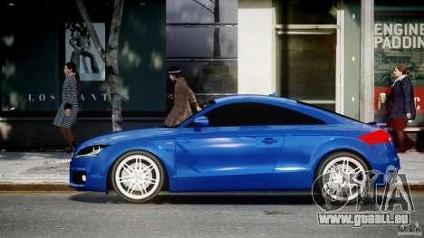 Audi TT RS Coupe v1.0 für GTA 4 linke Ansicht