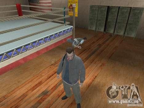 Le système de combat de GTA IV pour GTA San Andreas deuxième écran