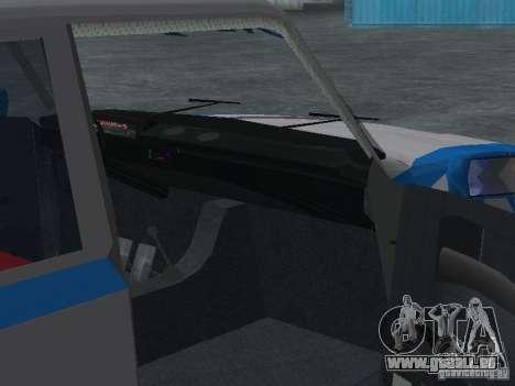 VAZ 2101 Sailor pour GTA San Andreas vue intérieure