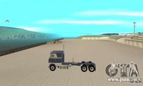 White Freightliner Extended Wheel Base für GTA San Andreas linke Ansicht