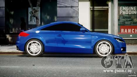 Audi TT RS Coupe v1.0 pour GTA 4 est une vue de l'intérieur