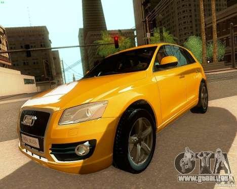 Audi Q5 für GTA San Andreas Rückansicht
