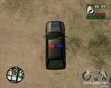 ВАЗ 2114 DPS tuning pour GTA San Andreas vue arrière