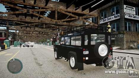 Land Rover Defender für GTA 4 Innenansicht