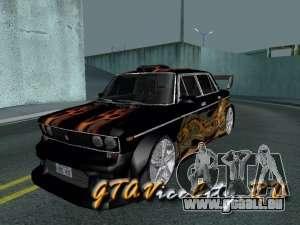 Mélodie de VAZ 2106 GTX pour GTA San Andreas
