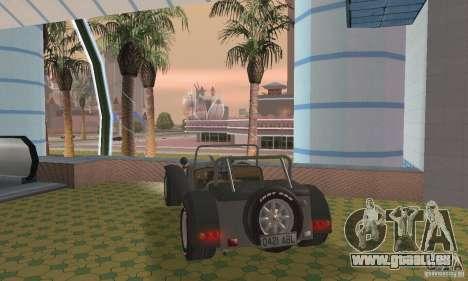 Lotus Seven pour GTA San Andreas laissé vue