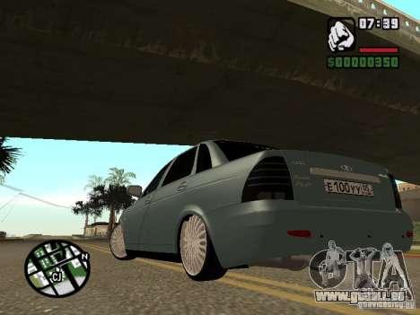 VAZ-2170 für GTA San Andreas linke Ansicht