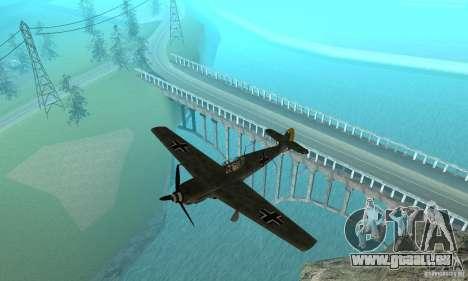 Bf-109 für GTA San Andreas