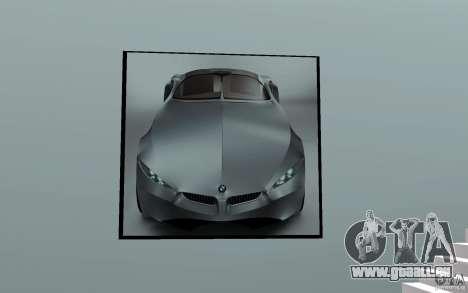Concessionnaire BMW pour GTA San Andreas deuxième écran