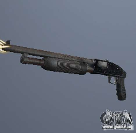 Une série d'armes de stalker V3 pour GTA San Andreas troisième écran