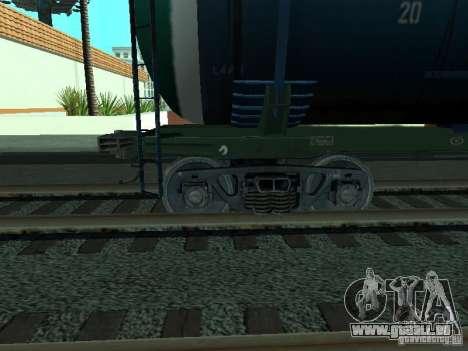 Tankwagen für GTA San Andreas rechten Ansicht