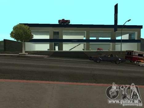 Auto Show Ford pour GTA San Andreas quatrième écran