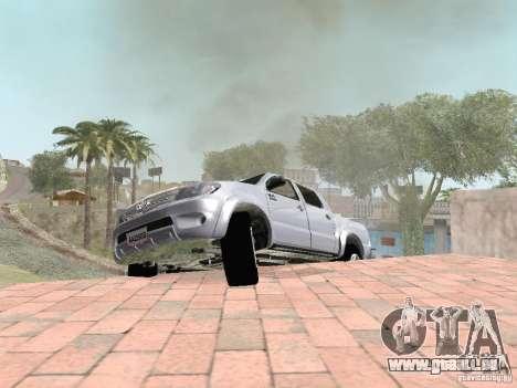 Toyota Hilux für GTA San Andreas linke Ansicht