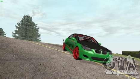 BMW M5 E60 Darius Balys für GTA San Andreas Seitenansicht