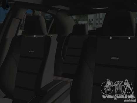 Mercedes-Benz E63 AMG pour une vue GTA Vice City d'en haut