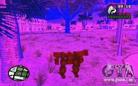 Exoskelett für GTA San Andreas sechsten Screenshot