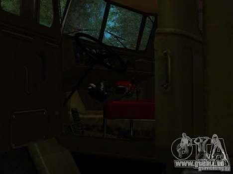 Ural 4320 Kung für GTA San Andreas Seitenansicht
