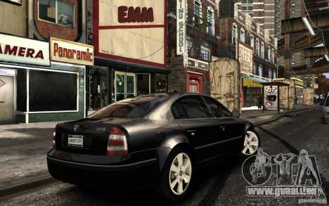 Skoda SuperB für GTA 4 obere Ansicht