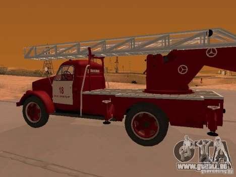 GAZ-51 ALG-17 pour GTA San Andreas vue de droite