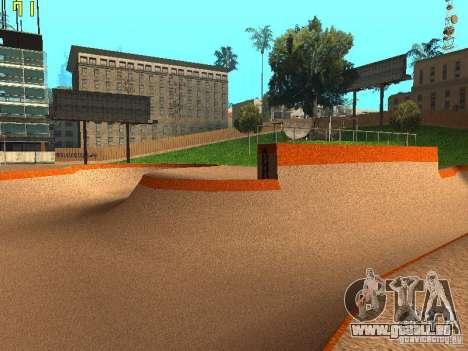 New SkatePark v2 pour GTA San Andreas sixième écran