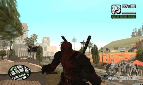 Dead Pool pour GTA San Andreas cinquième écran