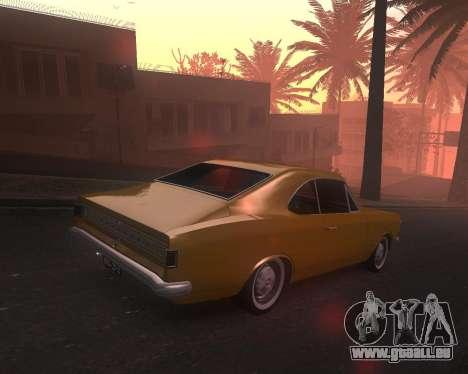Chevrolet Opala Gran Luxo für GTA San Andreas linke Ansicht