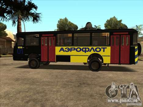 LIAZ 677p für GTA San Andreas