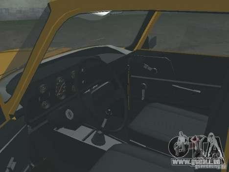 AZLK 2140 1981 pour GTA San Andreas vue arrière