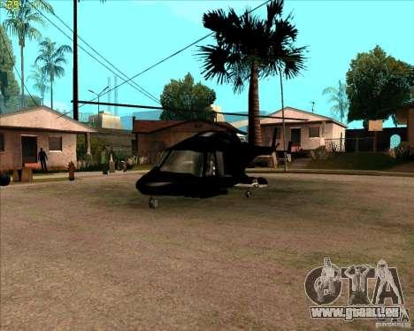 Airwolf pour GTA San Andreas