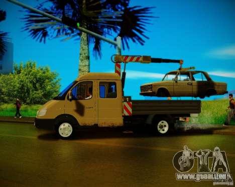 Gazelle 33023 Manipulator für GTA San Andreas linke Ansicht