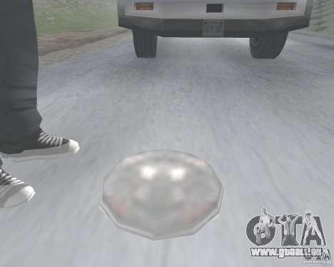 Mina v1.0 pour GTA San Andreas deuxième écran