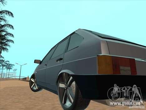 VAZ 21093i léger Tuning pour GTA San Andreas vue arrière