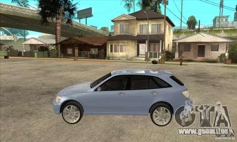Toyota Alteza Wagon pour GTA San Andreas laissé vue