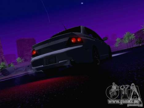Mitsubishi Lancer Evolution VIII pour GTA San Andreas moteur