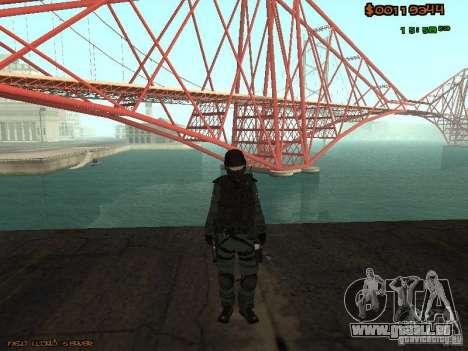 Sheriff Departament Skins Pack für GTA San Andreas sechsten Screenshot