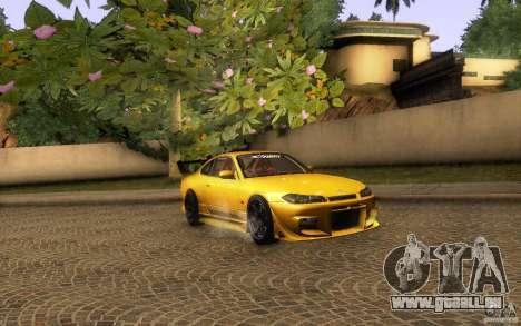 Nissan Silvia S15 Drift Style für GTA San Andreas Innenansicht