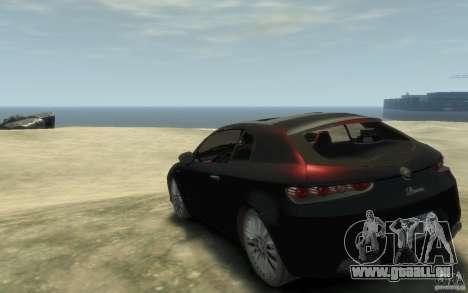 Alfa Romeo Brera pour GTA 4 Vue arrière de la gauche