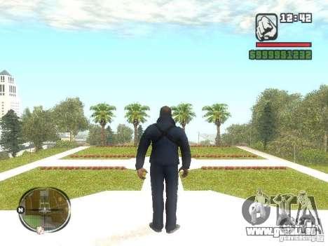 Viktor Zakhaev de COD MW 1 pour GTA San Andreas deuxième écran