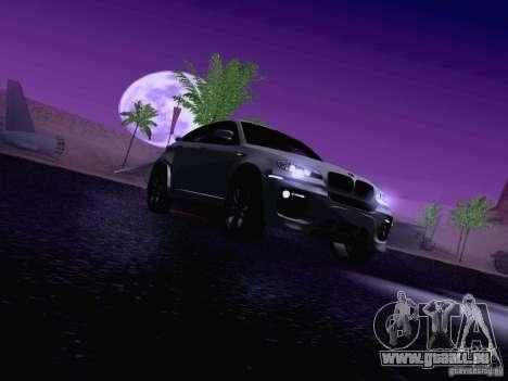 BMW X6 LT pour GTA San Andreas salon