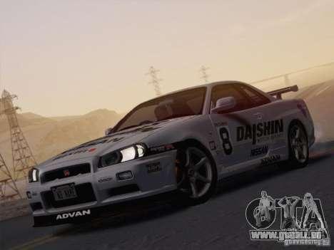 SA_NGGE ENBSeries v1. 2 spielbare Version für GTA San Andreas zweiten Screenshot