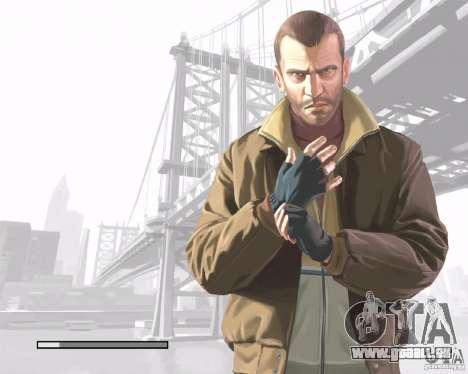 Écrans de chargement dans le style de GTA IV pour GTA San Andreas