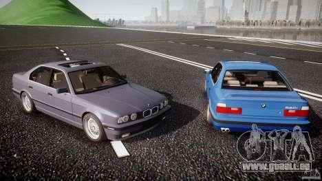 BMW 5 Series E34 540i 1994 v3.0 pour le moteur de GTA 4