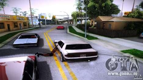 Piétons s'accrochent pour auto pour GTA San Andreas